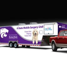 Image: Kansas State University Department of Clinical Sciences: Mobile Van Design