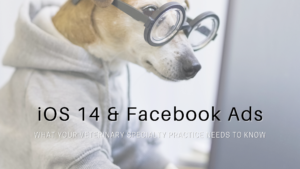What your veterinary practice needs to know about iOS 14 & FB Ads